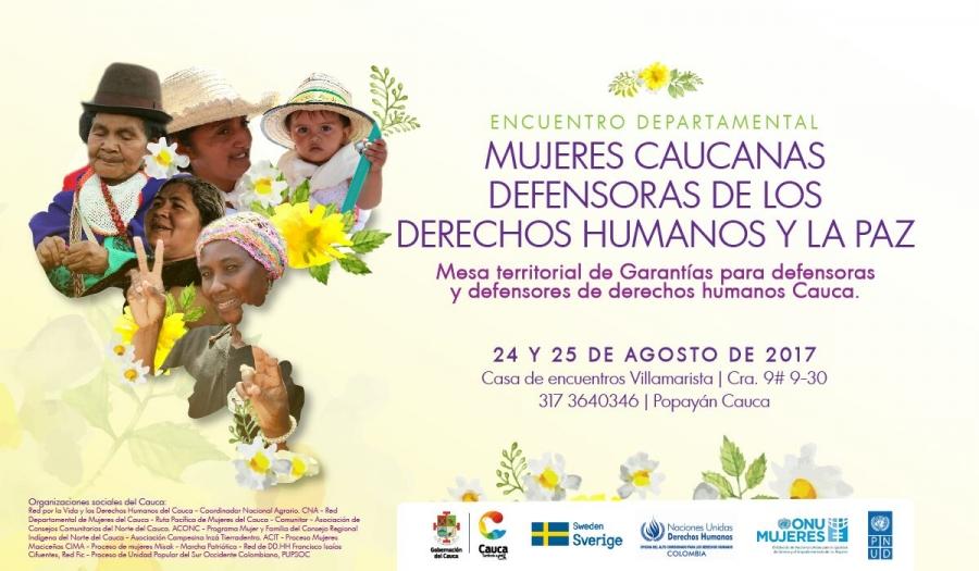 Encuentro Mujeres Caucanas